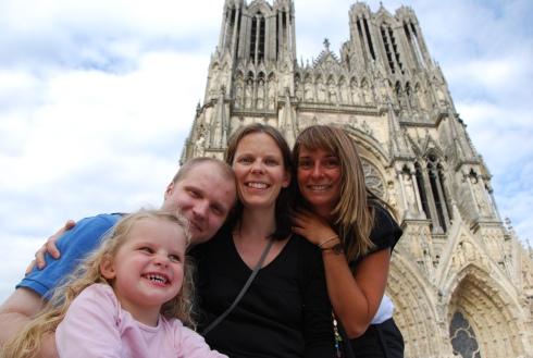 with Sara, Cyril & Fanny