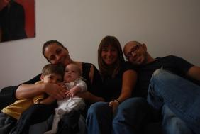 with Gaspar, Marie, Max & Séb