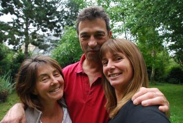 w/ family - July 2011