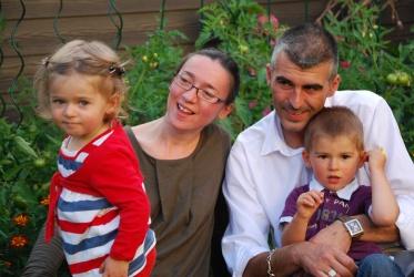 with Laureen, Nadège, Patrice & Ilan