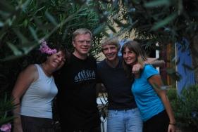 w/ family - Aug. 2011