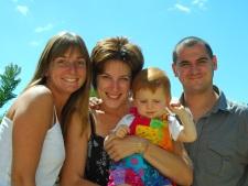 with Céline, Manon & Jérôme