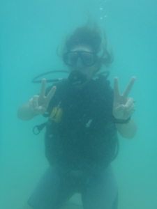 Diving in Phi Phi, Thailand