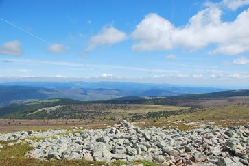 Pic Finniels, Lozère highest point, 1699m (5574ft.)