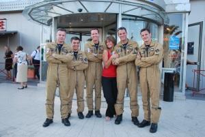 with Bubu (Bertrand), Dam's (Damien), Berny (Sébastien), Babou (Laurent) et Oliver (Cédric)
