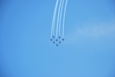 Palavas-les-Flots : Acrobatic air show, Patrouille de France