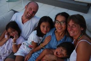 Toulouse : with Eric, Li-Ni, Ai-Ling, Yenni & Kien