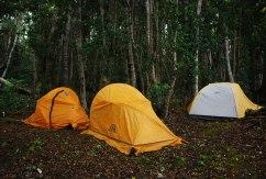 Campamento en Rio Yumbel