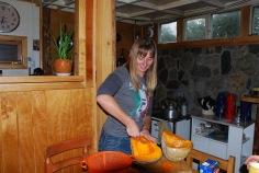 Thanksgiving diner preparation