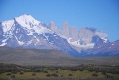 Torres del Paine at Laguna Amarga (3dec11)