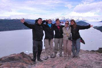 Patagonia team - Dec. 2011