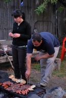 BBQ parties at Base Camp