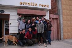 Erratic Rock'ing Team : Koen, Judy, Bill, Kiwi Paul, Caleb, Paul, J., Changa the dog, Claudia & Veronica