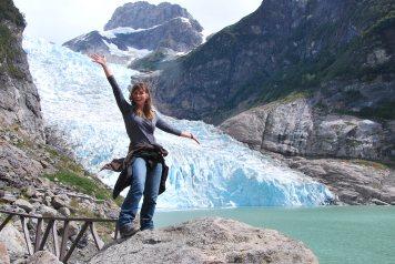 Serrano Glaciar, Puerto Natales, Chile