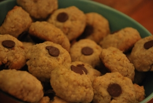 oatmeal cookies with one more touch of sweetness