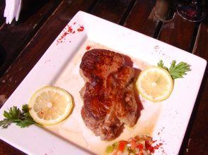 well-deserved argentinian steak in El Calafate