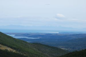 Cape Horn archipelago in the distance