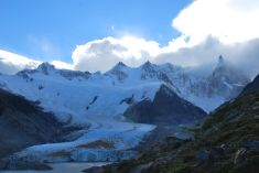 Cerro Torre at the far right-hand-side