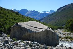 proof by example : erratic rock!