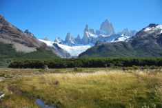 away from Fitz Roy
