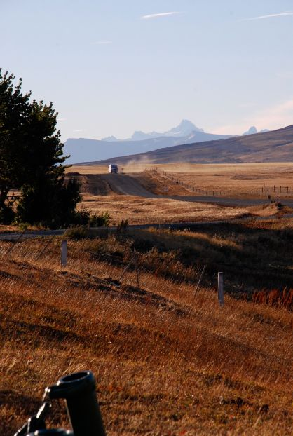 Torres del Paine Nat. Park from Argentina/Chile border