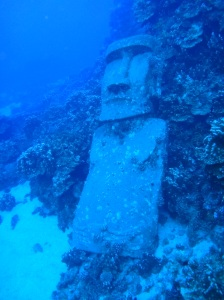 Diving in Rapa Nui, Chile
