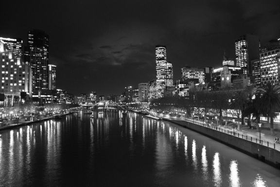 Melbourne by night, Oz