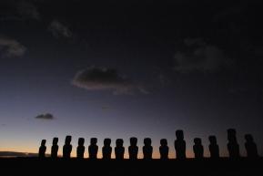 sunrise on Ahu Tongariki (10May12)