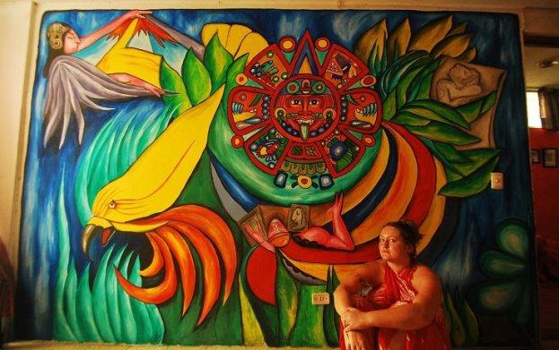 Anna's mural, Merida, Yuc., Mexico