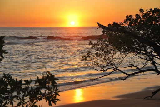 sunset Playa Negra, Costa Rica