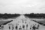 Washington Monument over Mirror Pool, D.C., USA