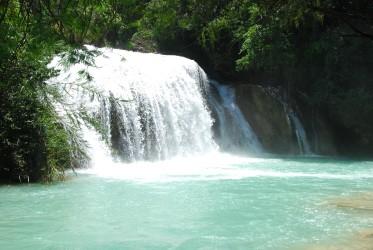 El Suspiro falls