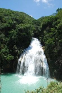 Quinceañera falls