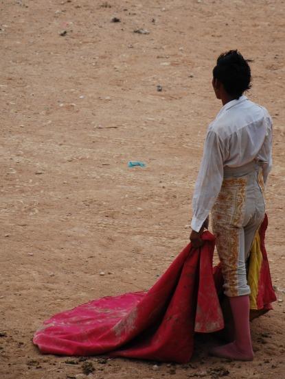 pink torero, Feria Mama, Mexico