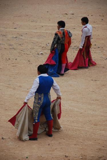 Toreadores, Feria Mama, Mexico
