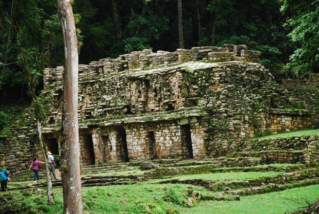Yaxchilan ruins, Mexico