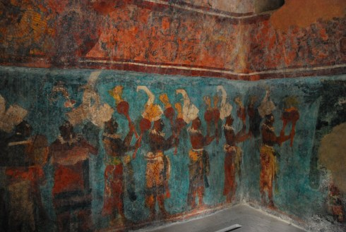Frescos in Structure 1