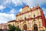 Church in San Cris, Mexico