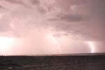 storm in Boca del Cielo, Mexico