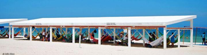 hammock hut, Chelem, Mexico