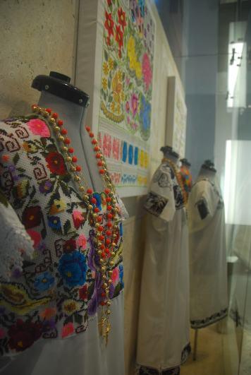 trajes tradicionales, Gran Museo Maya, Mexico