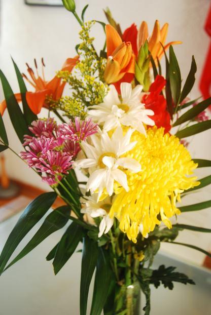 birthday flowers, Mexico