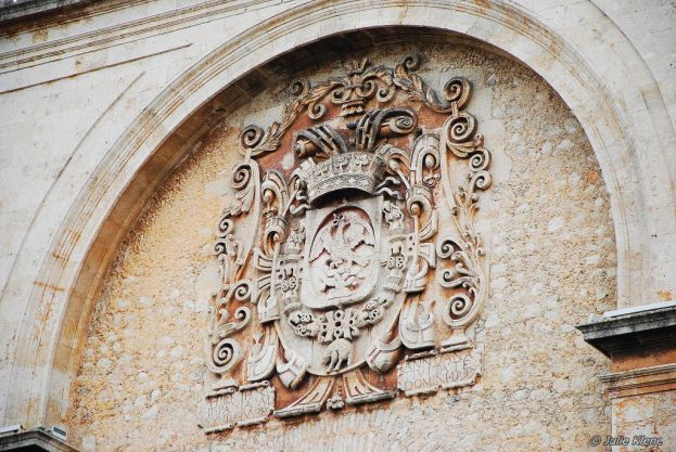 Merida Cathedral detail, Mexico
