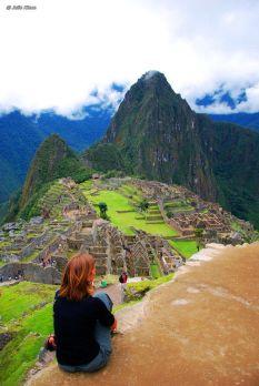 Living the Dream, Machu Picchu, Peru - April 2010