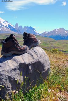 hiking Chile
