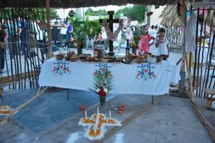 Paseo de las Animas - altar exhibition