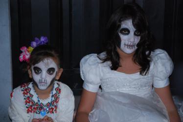 almas de niñas, Hanal Pixan, Mexico