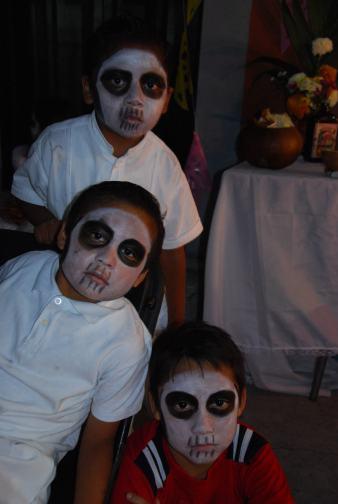 almas de niños, Hanal Pixan, Mexico