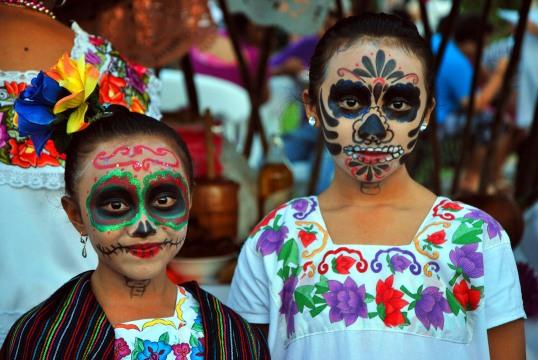 ninas almas, Hanal Pixan, Mexico