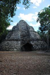 Small pyramide in Coba